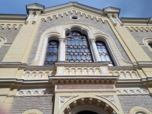 A felújított kisvárdai zsinagóga