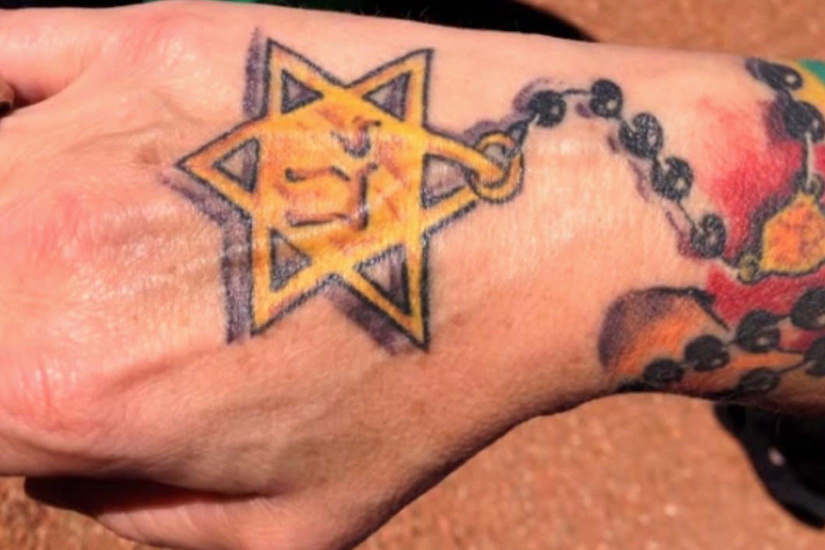 Zsidók és a tetoválás